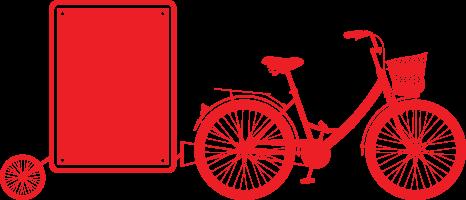 Bicicletta-pubblicitaria